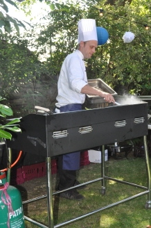 Catering for Garden Party - event planning