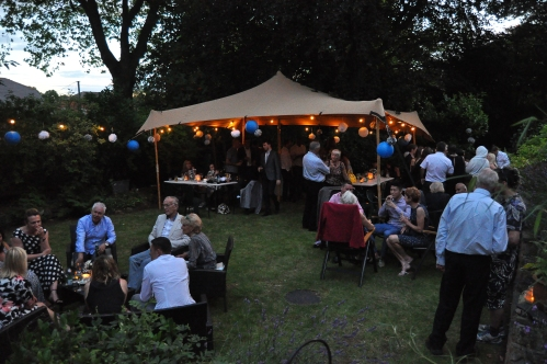 Garden Party at night - Nottingham, East Midlands